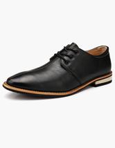 Almond Toe PU Leather Dress Shoes