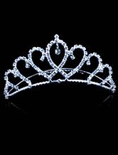 Anime Costumes AF-S2-554209 Halloween Rhinestone Metal Crown For Bridal
