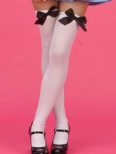 Anime Costumes AF-S2-554577 Halloween Girl's White Bows Cosplay Stockings