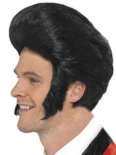 Anime Costumes AF-S2-555203 Halloween Elvis Presley Wig Costume Accessories