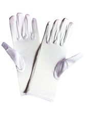 Anime Costumes AF-S2-555231 Halloween White Gloves Costume Accessories