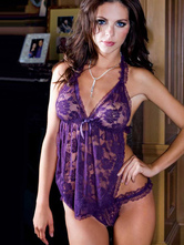 Purple Polyester Camisole for Women