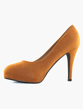 Plateau Pumps Damen High Heels Pumps