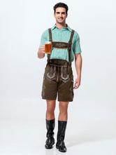 Anime Costumes AF-S2-562957 Halloween Green Oktoberfest Polyester Beer Men Costume