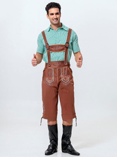 Anime Costumes AF-S2-563001 Halloween Green Oktoberfest Polyester Beer Men Costume