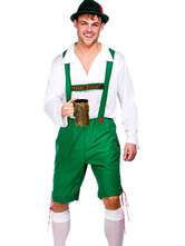 Anime Costumes AF-S2-562975 Halloween Green Oktoberfest Polyester Beer Men Costume