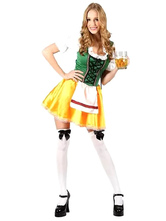 Anime Costumes AF-S2-562981 Halloween Multi Color Polyester Beer Girl Costume