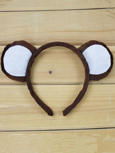 Anime Costumes AF-S2-564563 Halloween Brown Monkey Ear Synthetic Hairband for Women