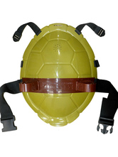 Anime Costumes AF-S2-565989 Halloween Yellow Ninja Plastic Cosplay Turtle Shell