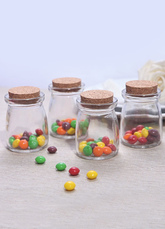 Unicolor Glass Wedding Candy Box