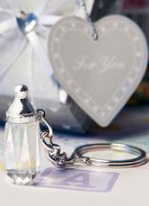 Silver Alloy Keychain for Wedding