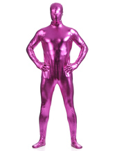 Anime Costumes AF-S2-568455 Rose Red Shiny Metallic Zentai Suits for Men