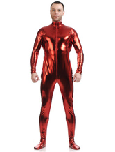 Anime Costumes AF-S2-568491 Red Shiny Metallic Cosplay Zentai Suit for Men