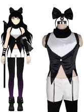 Anime Costumes AF-S2-568699 Split Color Satin Blake Belladonna Cospaly Costume