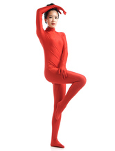 Anime Costumes AF-S2-568541 Red Lycra Spandex Zentai Suit for Halloween Morphsuits
