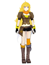 Anime Costumes AF-S2-568709 Brown Rwby Yang Xiao Long PU Cosplay Shoes