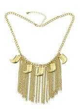 Цепочки золотые многоуровневого ожерелье моды для женщин