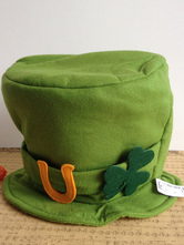 Anime Costumes AF-S2-569729 Halloween Green Cotton Blend Hat for for St.Patrick's Day