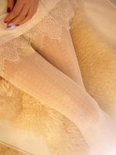 Lolitashow Niedliche  synthetische Lolita Socken für Mädchen in Weiße