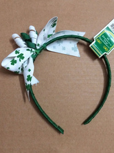 Anime Costumes AF-S2-569751 Halloween Green PVC Holiday Hairband