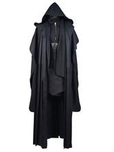 Anime Costumes AF-S2-571413 Star Wars Emperor Palpatine Darth Maul Halloween Cosplay Costume Black Cloak