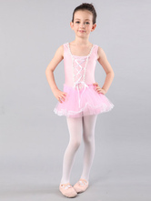 Anime Costumes AF-S2-572387 Light Pink Ballerina Velvet Ballet Dress&Stockings for Girls
