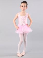 Anime Costumes AF-S2-572387 Light Pink Ballerina Velvet Ballet Dress&Stockings for Girls