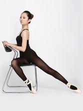 Anime Costumes AF-S2-572399 Black Semi-Sheer Lycra Spandex Ballet Stockings for Women