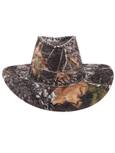 Anime Costumes AF-S2-573023 Halloween Multicolor Print Cowboy Faux Suede Cosplay Hat for Men&Women