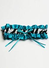 Multicolor Bows Polyester Wedding Garter for Women