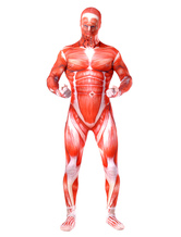 Anime Costumes AF-S2-573967 Halloween Red Monster Lycra Spandex Zentai