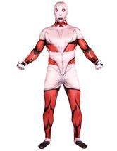 Multicolor élégant super-héros Lycra Spandex Zenati Halloween