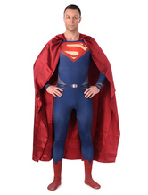AF-S2-573977 Halloween Multicolor Superman Chic Lycra Spandex Zentai