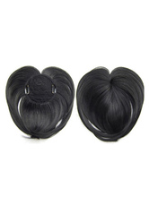 Anime Costumes AF-S2-573745 Black Bangs Chic Hair Extensions for Women