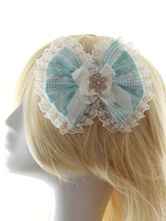 Lolitashow Multicolor Lace Bows Trendy Synthetic Lolita Hair Accessories