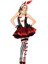 Anime Costumes AF-S2-576677 Halloween Multicolor Hearts Polyester Sexy Bunny Costume for Women