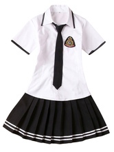 Anime Costumes AF-S2-578457 Two-Tone Tie School Cloth Uniform Costume