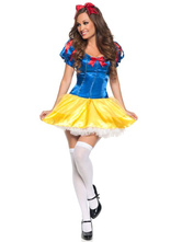 Anime Costumes AF-S2-577149 Halloween Multicolor Bows Polyester Princess Costume for Women
