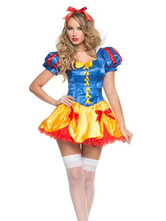 Anime Costumes AF-S2-577161 Halloween Multicolor Bows Polyester Chic Sexy Princess Costume for Women