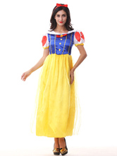 Anime Costumes AF-S2-577169 Halloween Multicolor Snow White Polyester Princess Costume for Women