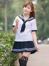 Anime Costumes AF-S2-578475 Multicolor Tie School Cloth Uniform Costume