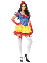 Anime Costumes AF-S2-577147 Halloween Multicolor Bows Polyester Princess Costume for Women