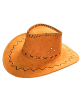 Anime Costumes AF-S2-579327 Halloween Yellow Cowboy Synthetic Cosplay Cap