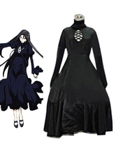 Anime Costumes AF-S2-579751 Black Pandora Saint Seiya Polyester Dress Cosplay Costume