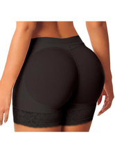 Shapewear Calças acolchoadas Curvas de assalto de levantamento de extremidade feminina Controle de controle