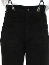 Anime Costumes AF-S2-579993 Victorian Black Cotton Pants Pageant Costumes For Men