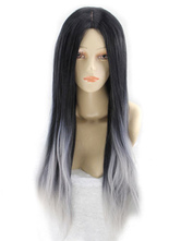 Anime Costumes AF-S2-580865 Two-Tone Ombre Long Straight Wig for Women