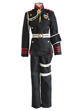 Anime Costumes AF-S2-581527 Black Ichinose Guren Seraph of The End Cosplay Costume With Uniform Cloth