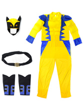 Anime Costumes AF-S2-581503 X-Men Wolverine Halloween Cosplay Costume Yellow