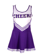 Anime Costumes AF-S2-582969 Halloween Multicolor Print Polyester Cheerleader Costume